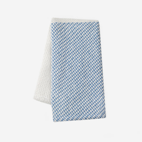 Blue Colorblocked Woven Kitchen Towel-Accessory-Love Your Melon