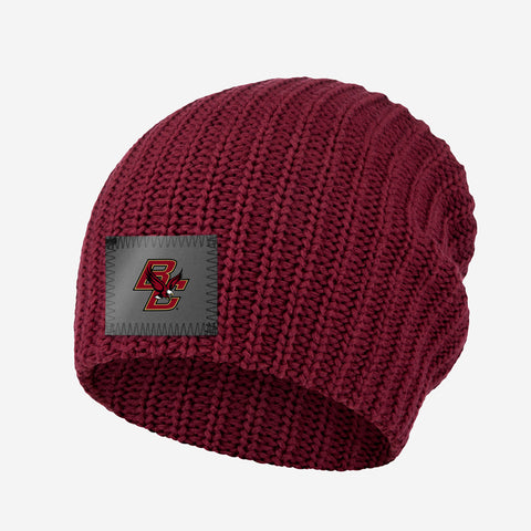 Boston College Eagles Burgundy Speckled Beanie