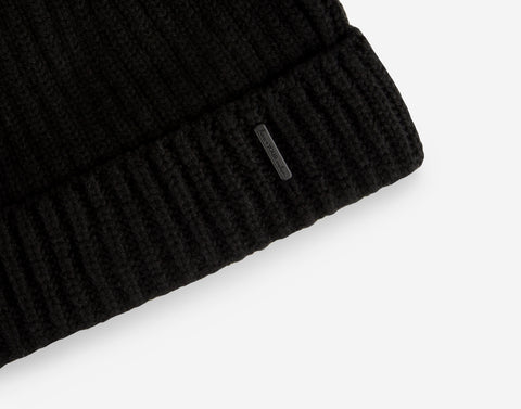Black Cashmere Beanie-Beanie-Love Your Melon