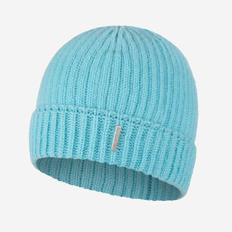 Sterling Blue Cashmere Beanie-Beanie-Love Your Melon