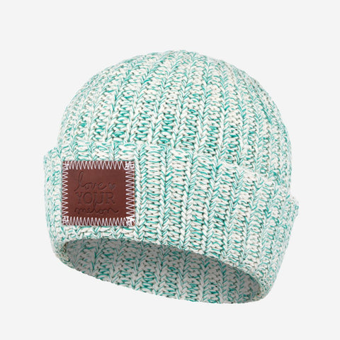 Biscay Bay Speckled Cuffed Beanie-Beanie-Love Your Melon