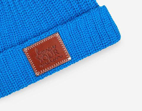 Nebulas Blue Cuffed Beanie-Beanie-Love Your Melon