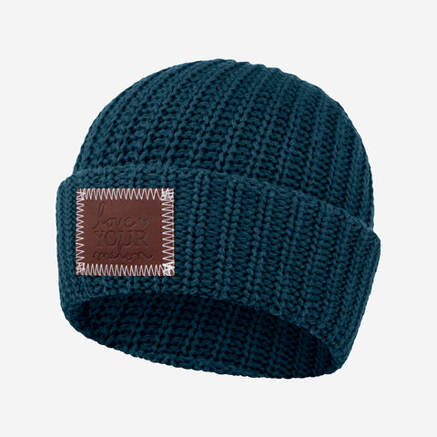 Emerald Pool Cuffed Beanie