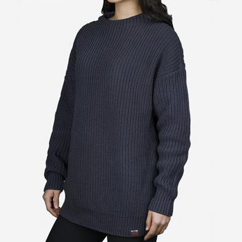 Dark Charcoal Knit Sweater