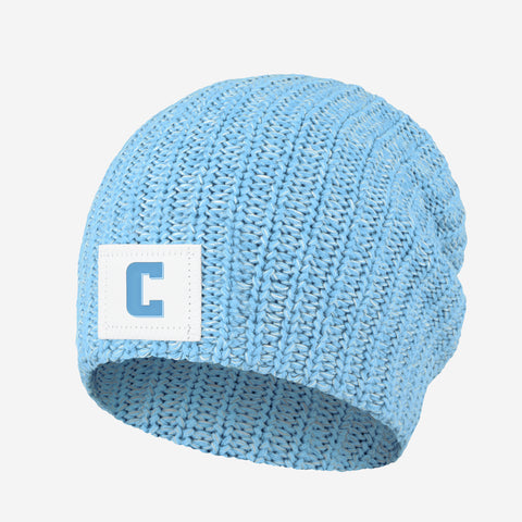 Columbia University Lions Powder Blue and White Speckled Beanie