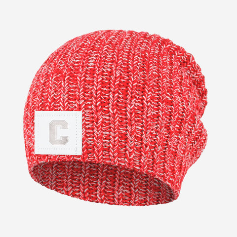 Cornell Big Red Red and White Speckled Beanie