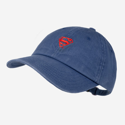 Superman™ Navy Washed Denim Cap