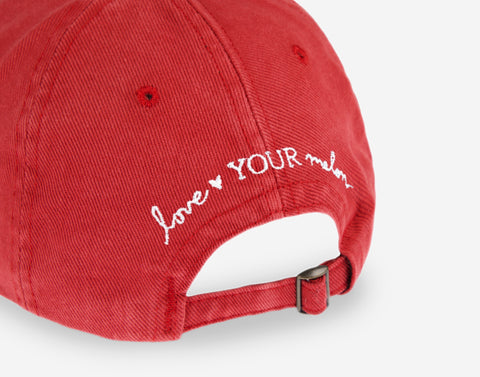 The Flash™ Crimson Washed Denim Cap