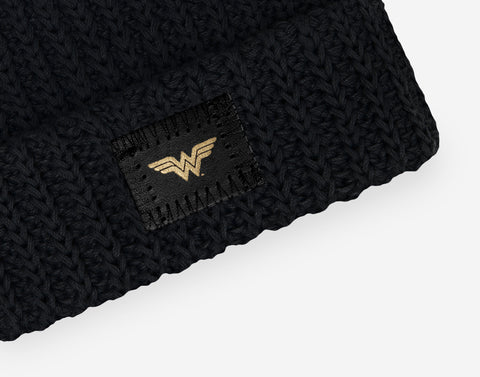 Wonder Woman™ Black Baby Beanie