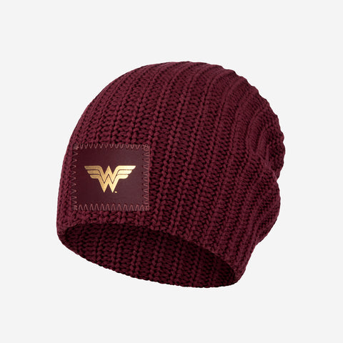 Wonder Woman™ Burgundy Kids Beanie