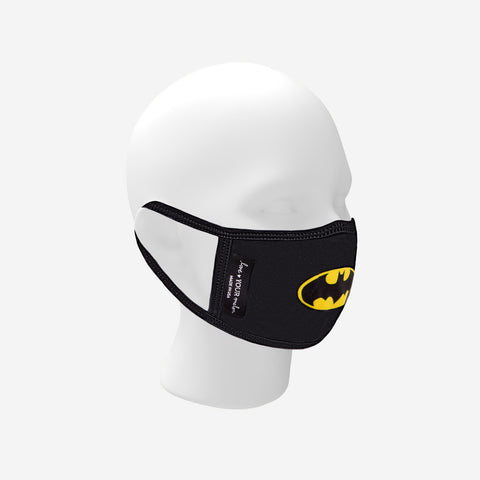 Adult Batman™ Face Mask with Nose Piece + Filter Pocket