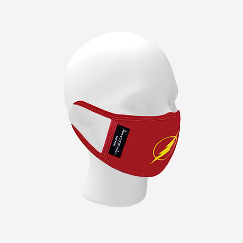 Adult The Flash™ Face Mask with Nose Piece + Filter Pocket
