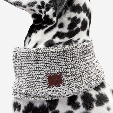 Black Speckled Dog Cowl