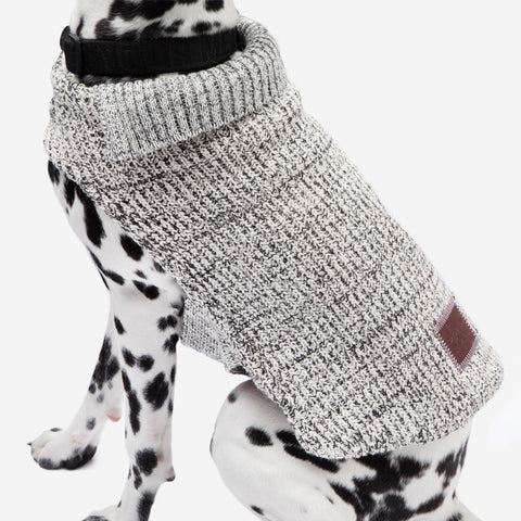 Black Speckled Dog Sweater