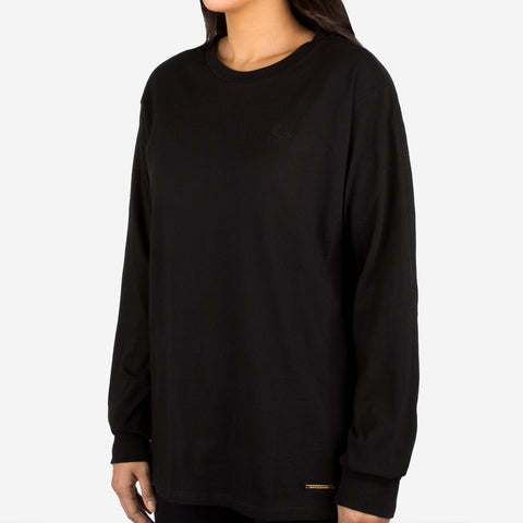 Black Gold Bar Long Sleeve