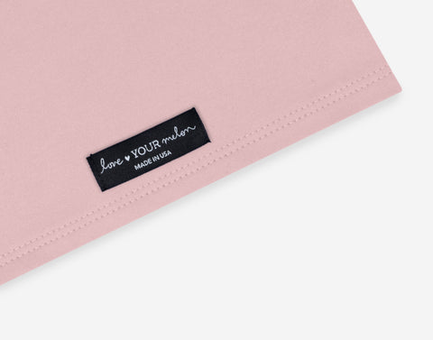 Dusty Pink 2 Layer Neck Gaiter Face Mask