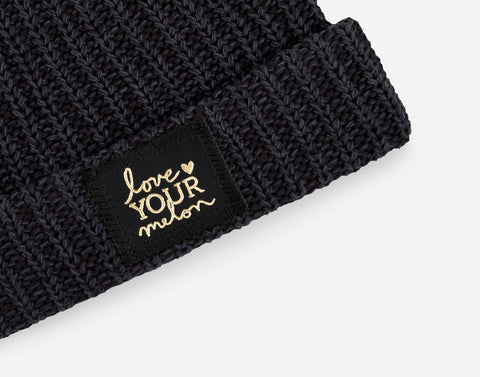 d1aa84985d7ab ... Smoke Speckled Gold Foil Cuffed Beanie-Beanie-Love Your Melon ...