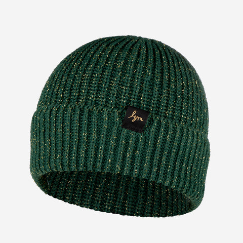 Hunter Metallic Gold Yarn Lightweight Beanie-Beanie-Love Your Melon