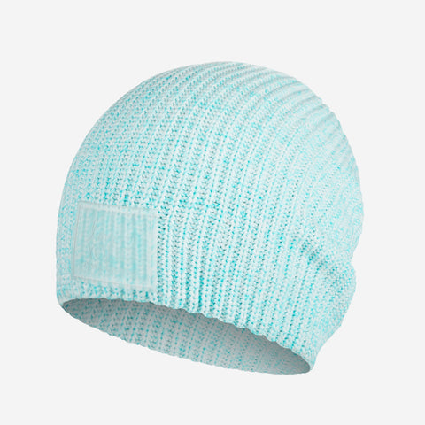 Ocean Blue Speckled Recycled Plastic Beanie