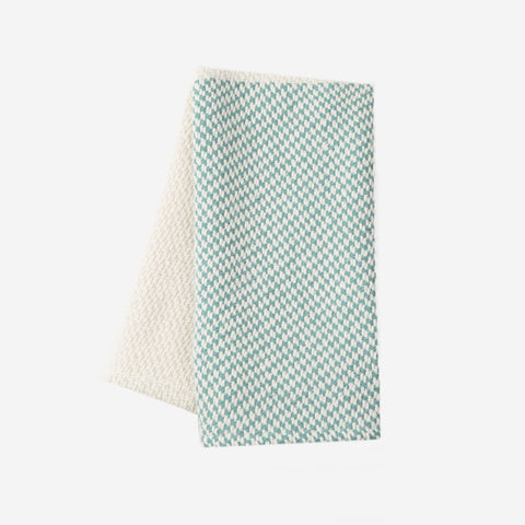 Sage Colorblocked Woven Kitchen Towel-Accessory-Love Your Melon