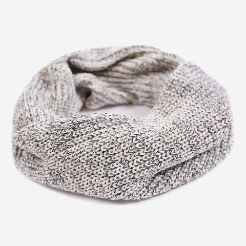 Black Speckled Infinity Scarf-Scarf-Love Your Melon