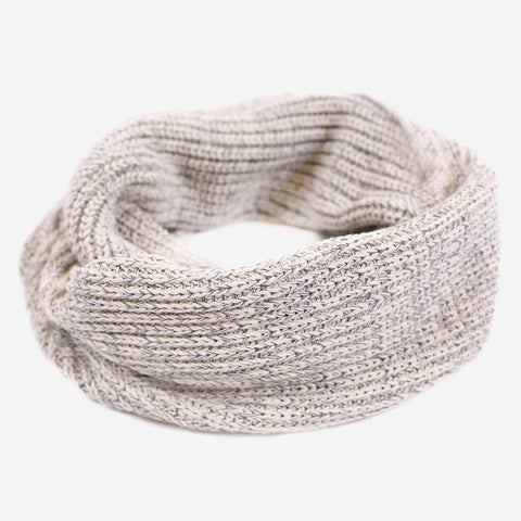 Gray Speckled Infinity Scarf-Scarf-Love Your Melon
