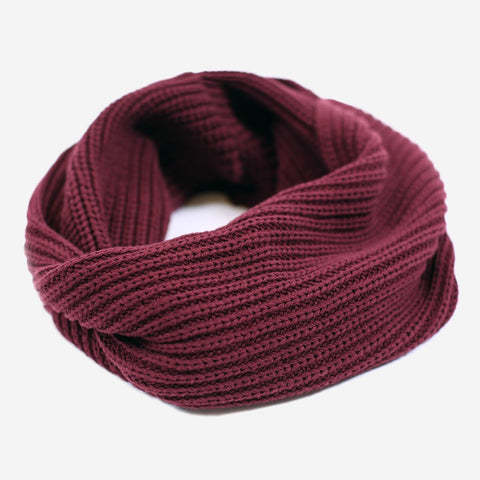 Burgundy Infinity Scarf-Scarf-Love Your Melon
