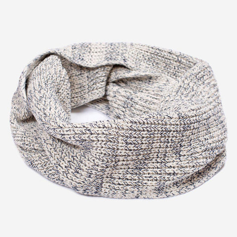 Navy Speckled Infinity Scarf-Scarf-Love Your Melon