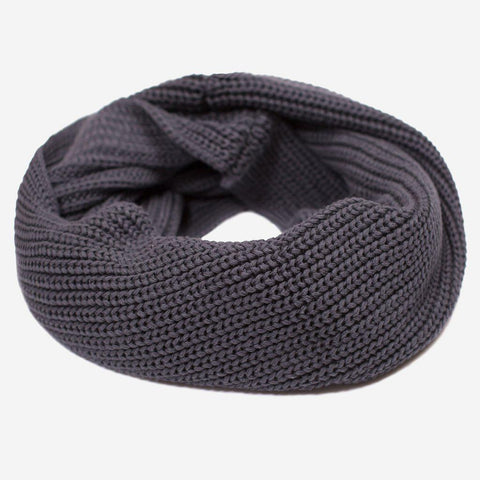 Dark Charcoal Infinity Scarf-Scarf-Love Your Melon