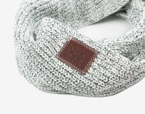 Hunter Speckled Infinity Scarf