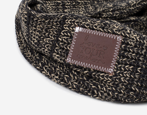 Leopard Speckled Infinity Scarf