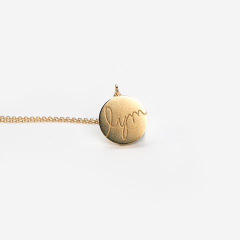 Love Your Melon Circle Necklace-Love Your Melon