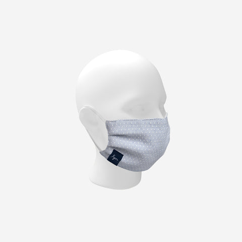 Kids Reusable Cotton Face Mask with Nose Piece + Filter Pocket