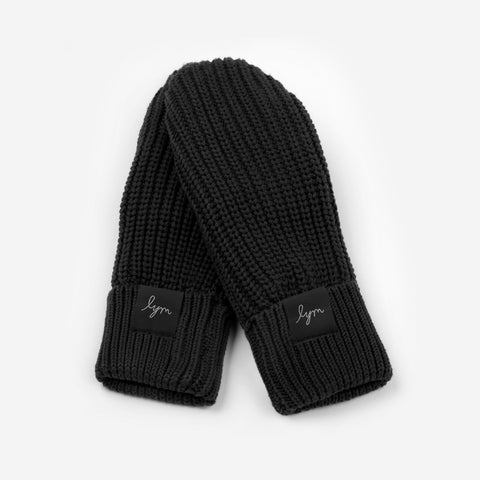 Black Kids Mittens