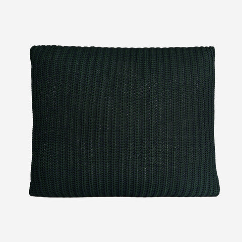 Hunter Green and Navy Speckled Signature Knit Pillow-Accessory-Love Your Melon