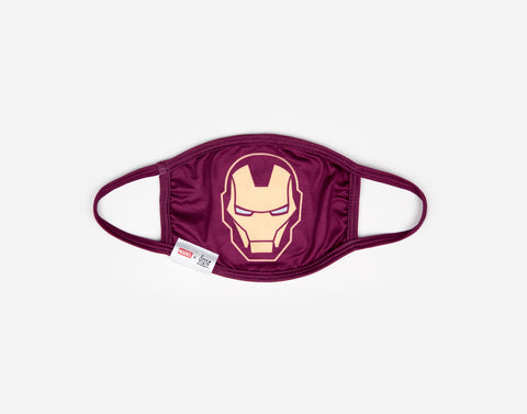 Iron Man Kids Reusable Dual Layer Cloth Face Mask