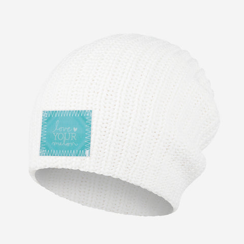 White Beanie (Lenticular Patch)