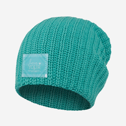 Teal Beanie (Lenticular Patch)