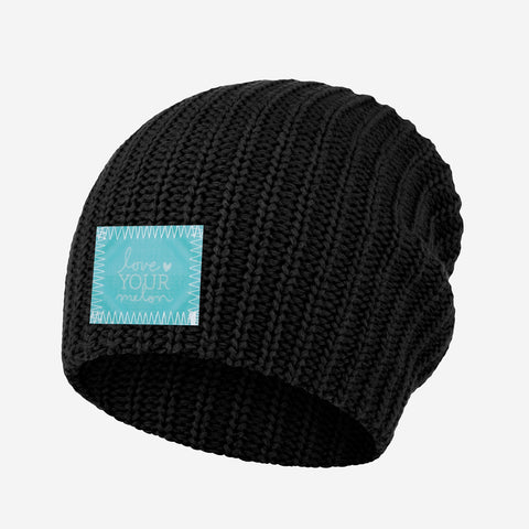 Black Beanie (Lenticular Patch)