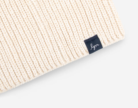 White Speckled Lightweight Beanie-Beanie-Love Your Melon