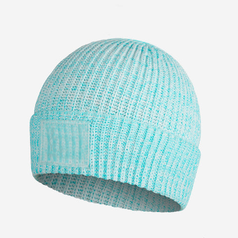 Ocean Blue Speckled Revitalize Cuffed Beanie-Beanie-Love Your Melon