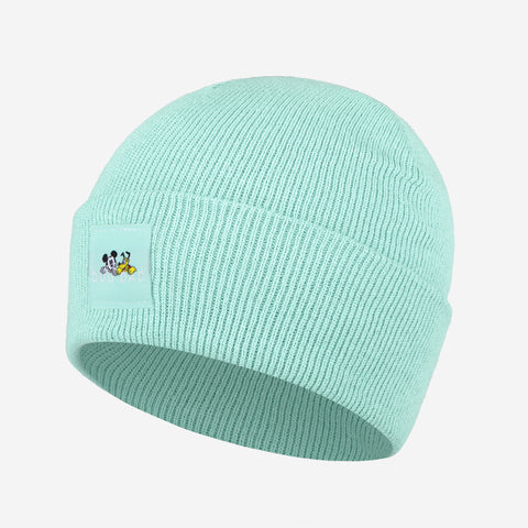 Mickey Mouse Dog Dad Mint Green Acrylic Cuffed Beanie