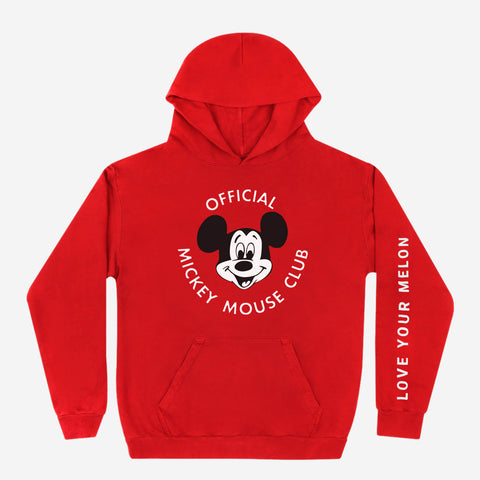 Mickey Mouse Club Red Hoodie