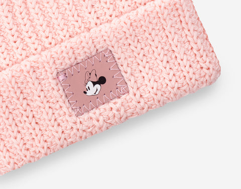 Pre-Order Minnie Mouse Baby Blush Double Pom Beanie