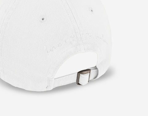 Mickey Mouse White Denim Washed Cap