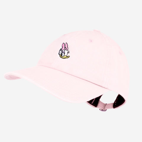 Daisy Duck Light Pink Denim Washed Cap