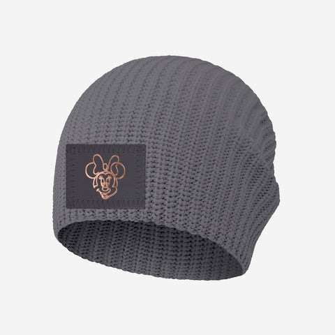 Minnie Mouse Kids Light Charcoal Lightweight Beanie