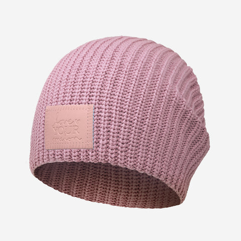 Pale Rose Monochrome Lightweight Beanie