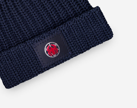 Marvel Spider-Man Kids Pom Beanie