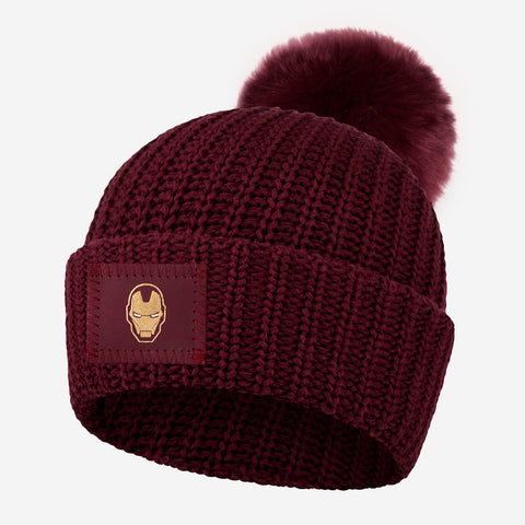 Marvel Iron Man Pom Beanie